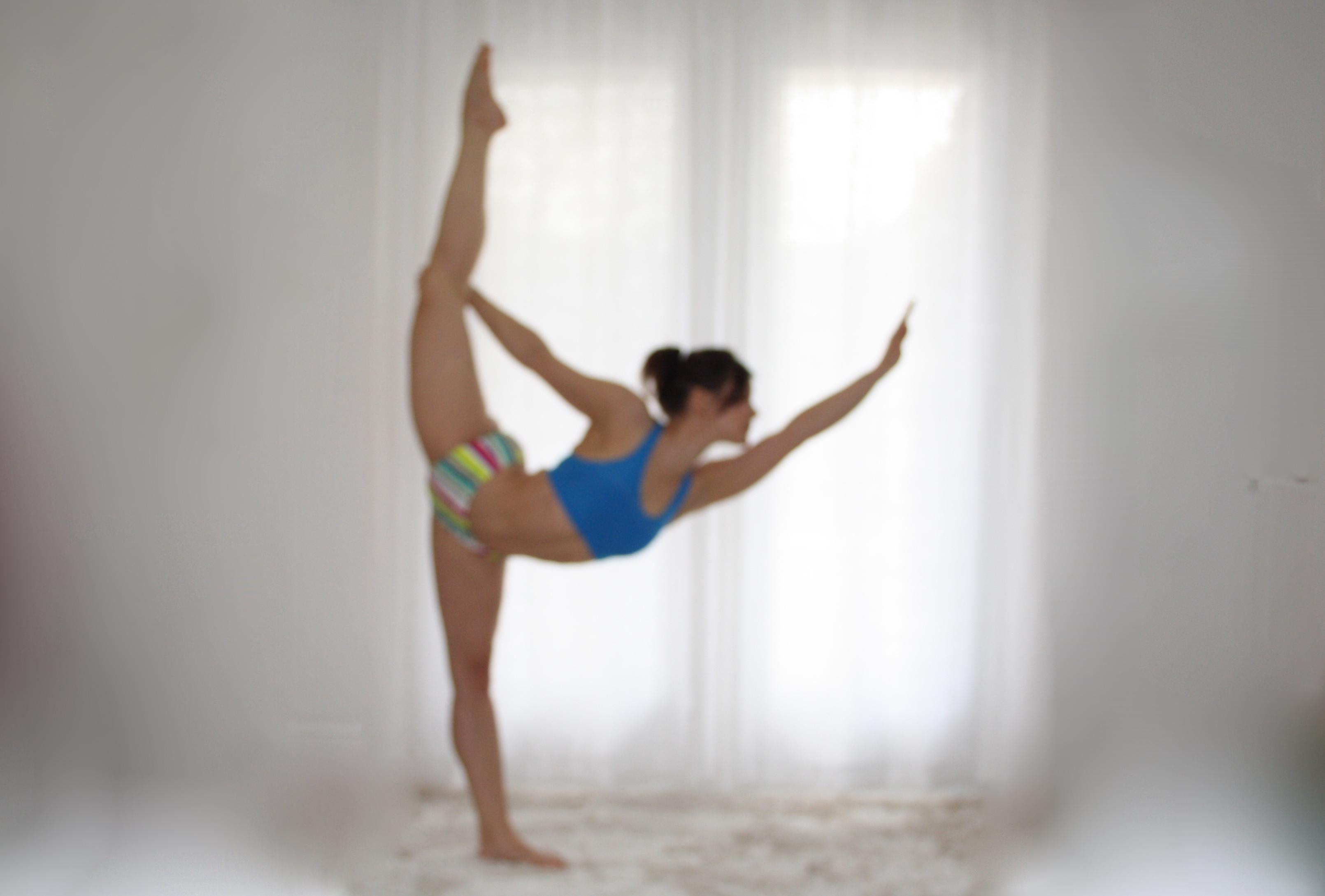 Natarajasana Standing Balance Variation (Dancer's Pose) | OM Tripura